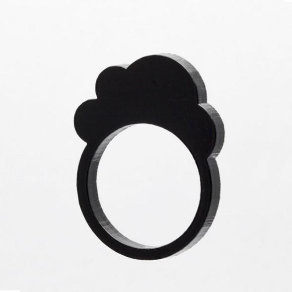 black cloud ring