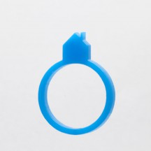 blue chimney house ring
