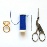 basket ring DIY material
