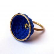 basket ring deep blue version